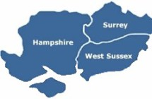Hampshire Surrey West Sussex